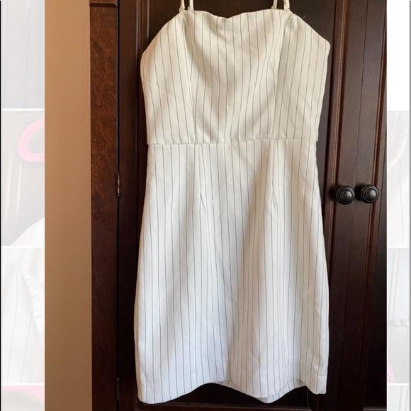 Dynamite | Striped Straight Dress